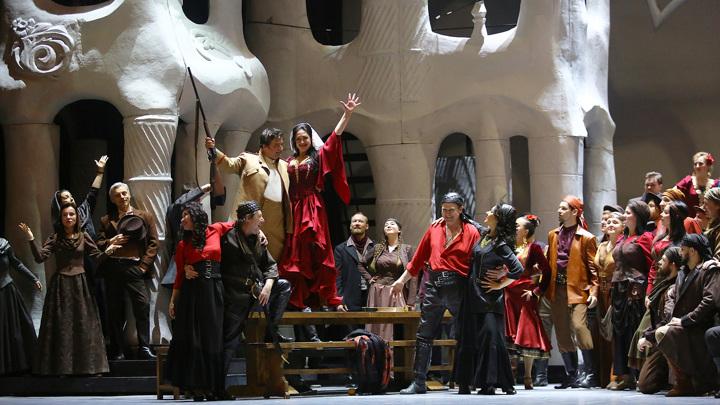 """Театр """"Новая опера"""" покажет оперу """"Кармен"""" Бизе в новой интерпретации"""