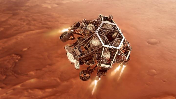Новый марсоход займётся поиском внеземной жизни.