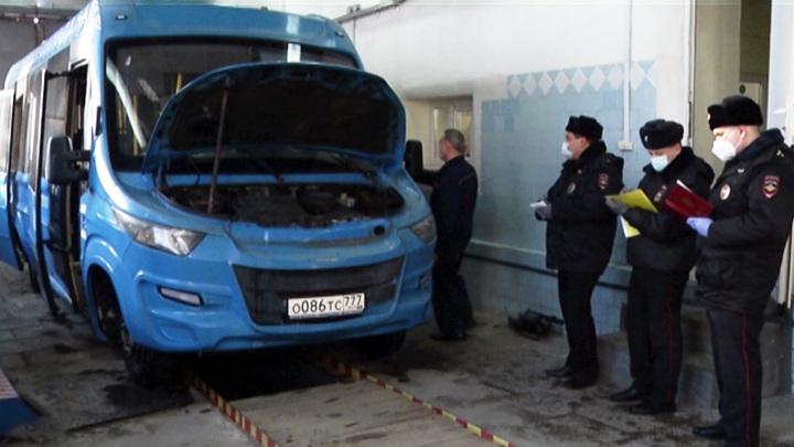 Проведение техосмотра автобусов проконтролируют инспекторы ГИБДД
