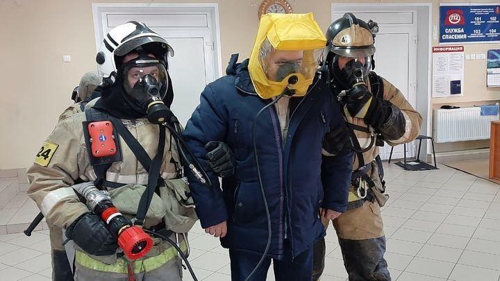 В Доме культуры Тульской области в рамках учений эвакуировали 75 человек