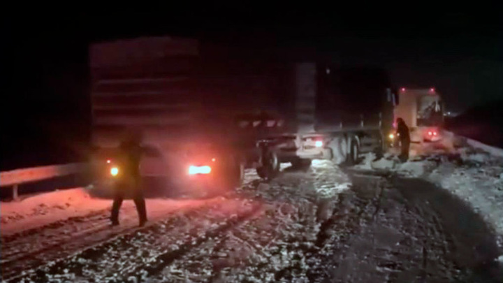 Циклонический вихрь спровоцировал транспортный коллапс на юге России