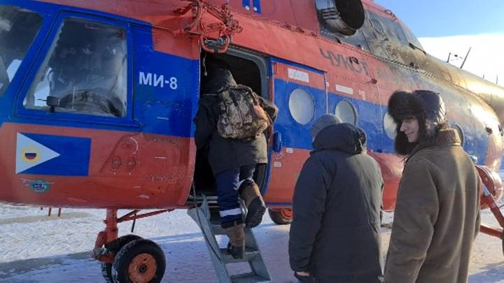 Почти 150 жителей уехали из замерзающего села Нунлигран на Чукотке