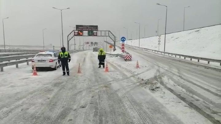 Движение автотранспорта по Крымскому мосту восстановлено