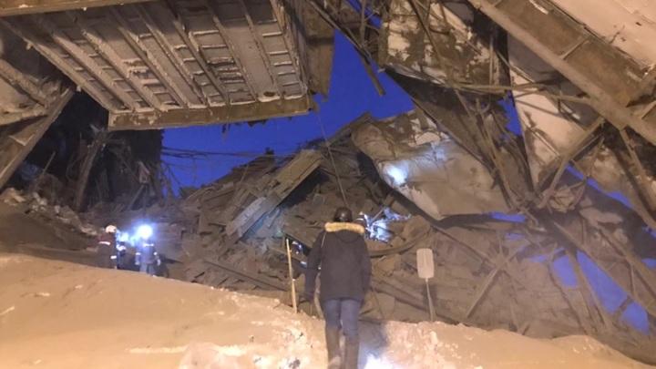 СК назвал возможную причину обрушения на норильской фабрике