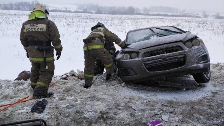Серьезная авария в Тульской области унесла три жизни