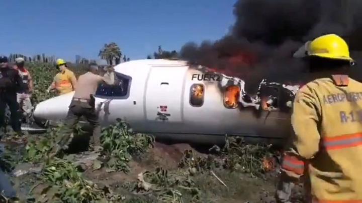 Авиакатастрофа в Мексике унесла жизни 6 военных