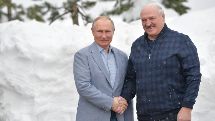 Встреча Путина и Лукашенко проходит в Сочи