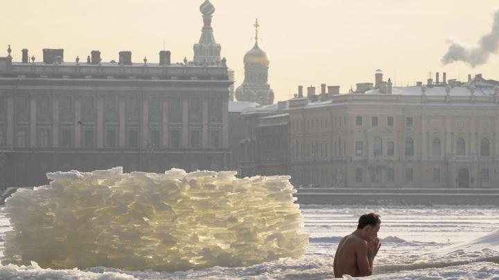 Февраль свирепствует морозами и снегом