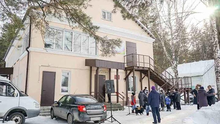 В отдаленном микрорайоне Бийска открыли спортивно-досуговый центр