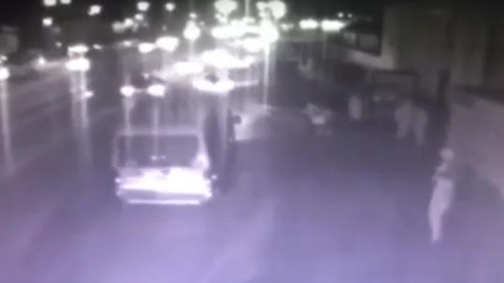 Споткнулась: еще одно смертельное ДТП в Улан-Удэ попало на видео