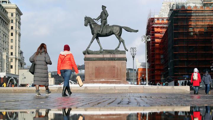 В Москве побит температурный рекорд 1990 года