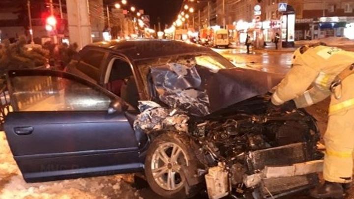 Полиция нашла водителя, устроившего ДТП со скорой в Калуге