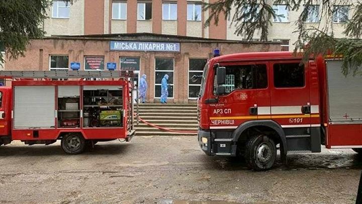 В больнице города Черновцы произошел взрыв, есть пострадавшие