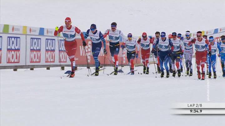 Первое золото чемпионата мира: Большунов одолел сборную Норвегии