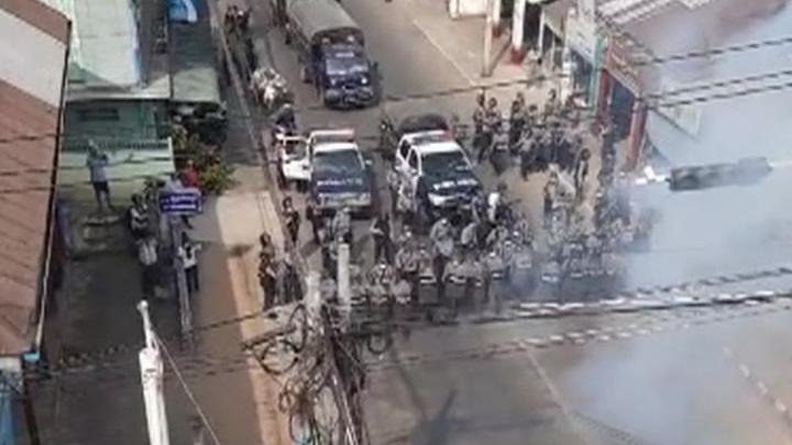 Столкновения в Мьянме: десятки погибших и раненых