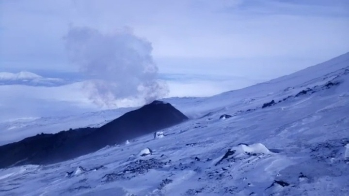 Циклон принес мощнейший снегопад на Камчатку