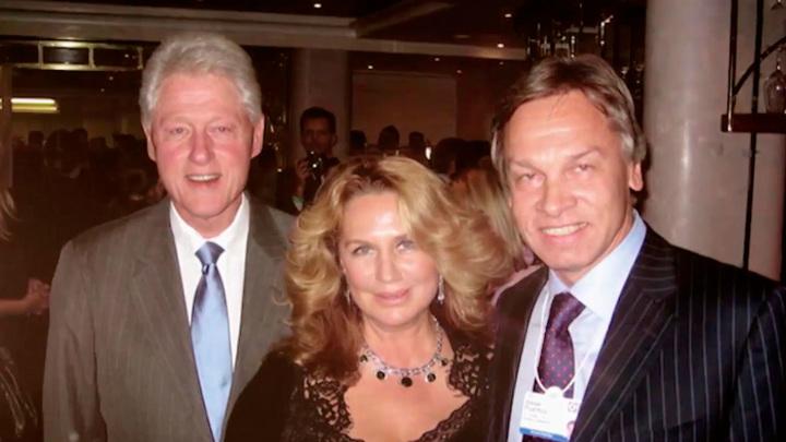 """Кадр из программы """"Судьба человека"""". """"Мастер обольщения"""": Пушкова вспомнила интригующую встречу с Клинтоном"""