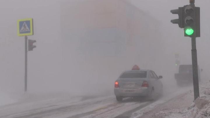 Ураганный ветер и метель прогнозируют на Чукотке