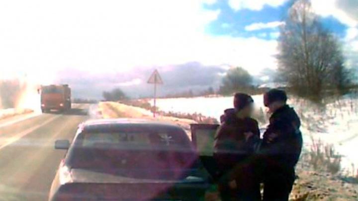 Под Костромой пьяный угонщик пытался выдать себя за пассажира
