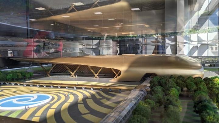 В Краснодаре презентовали макет нового терминала аэропорта