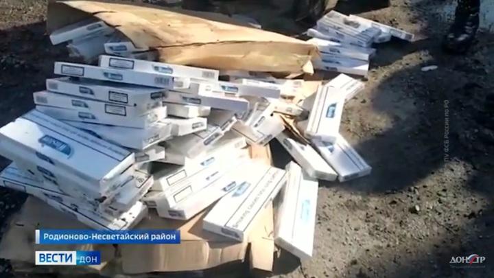 На Дону задержали контрабанду 40 тысяч пачек сигарет