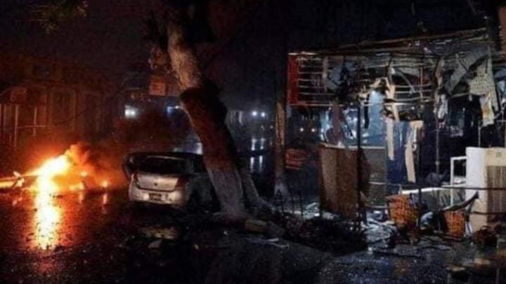 По меньшей мере, 20 человек погибли при взрыве в Сомали, 30 пострадали
