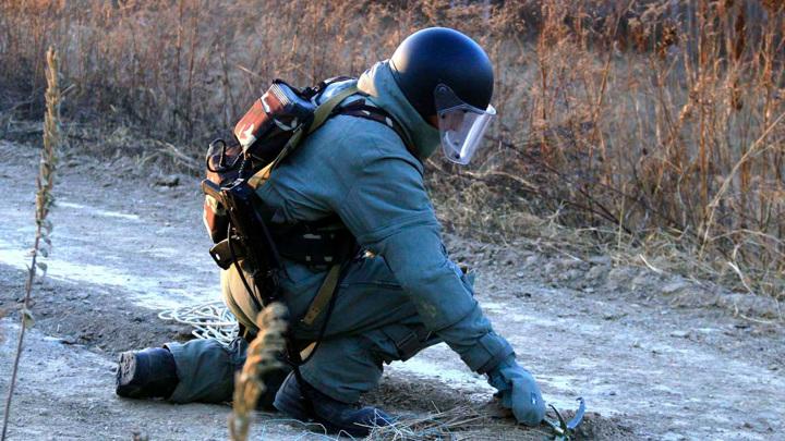 На выезде из Смоленска обнаружено взрывное устройство