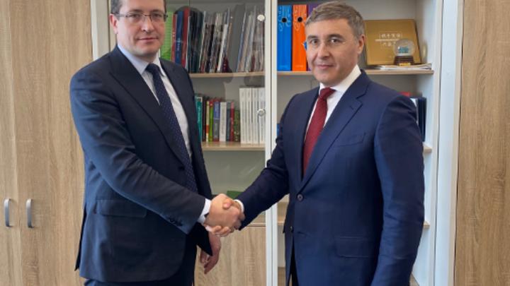 Губернатор Нижегородской области показал проект студгородка главе Минобрнауки