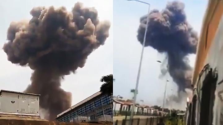 При взрывах на базе в Экваториальной Гвинее пострадали более 400 человек