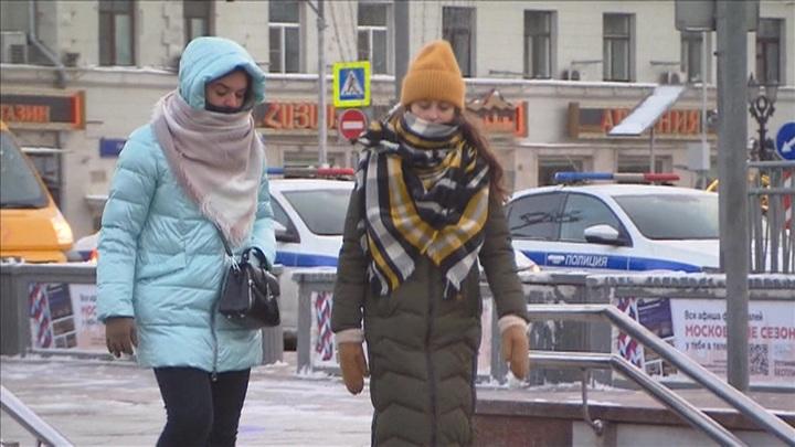 Тепло и сыро: до выходных Москва проживет под хмурым небом