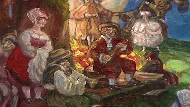 Восстановлена коллекция картинной галереи Догадина в Астрахани