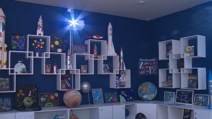 В чебоксарском детсаду открылся цифровой стационарный планетарий
