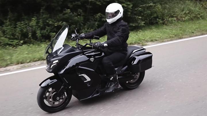 3,7 секунды до 100: представлен первый российский электромотоцикл Aurus