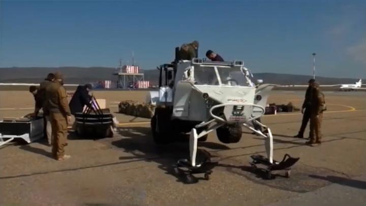 Чеченский спецназ испытает себя в условиях экстремального холода