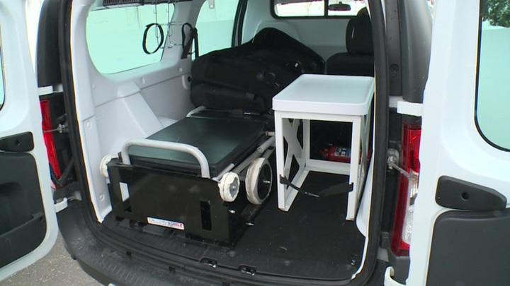 Дом ребенка в Нальчике получил в подарок машину для лежачих пациентов