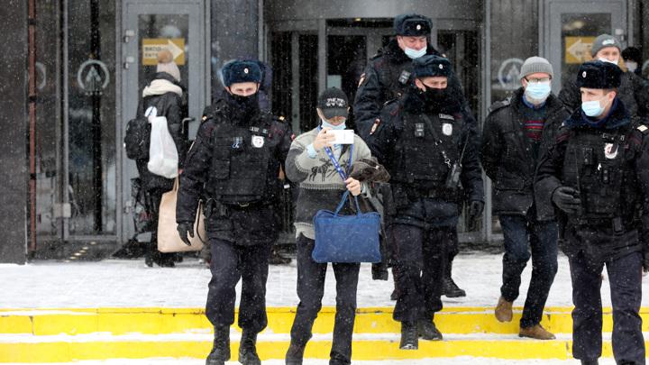 МВД сделало заявление о массовых задержаниях в Москве