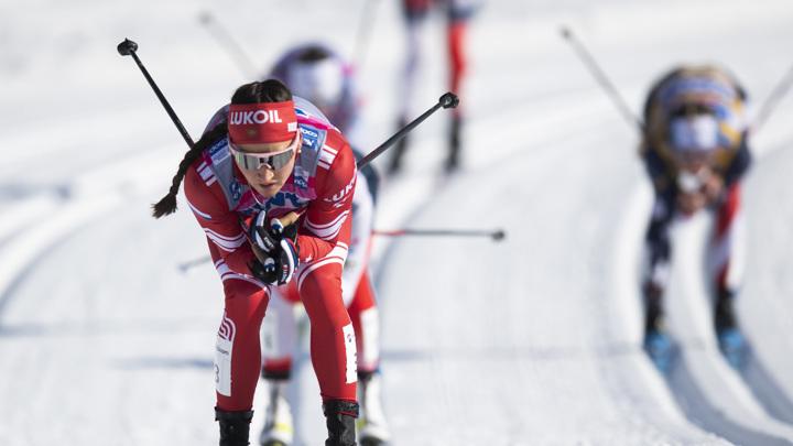 Юлия Ступак стала третьей в гонке преследования Кубка мира