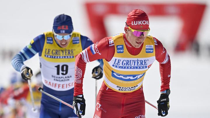 Большунов стал шестым в гонке преследования