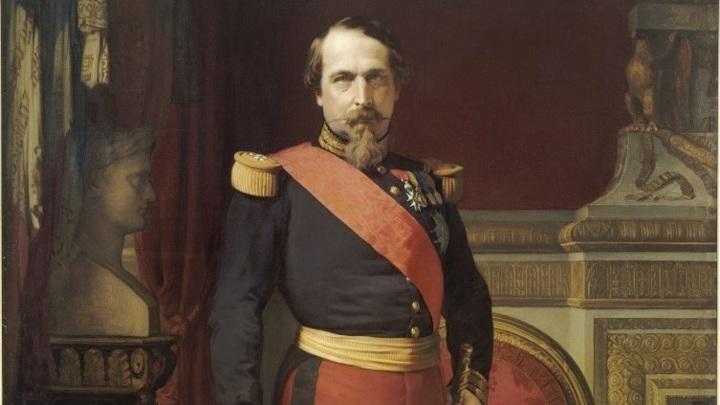 Наполеон III / портрет кисти Ипполита Фландрена / Общественное достояние
