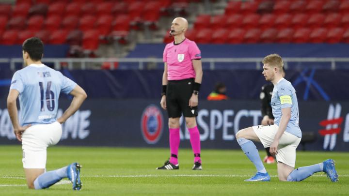 Карасев не будет наказан за отказ встать на колено перед матчем Лиги чемпионов