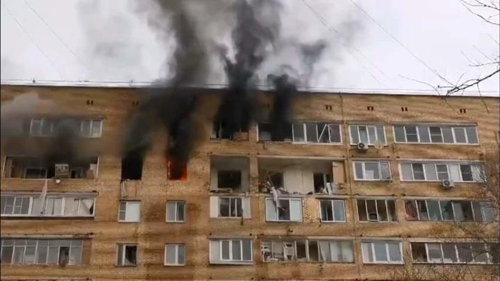 Количество пострадавших от взрыва газа в Подмосковье увеличилось