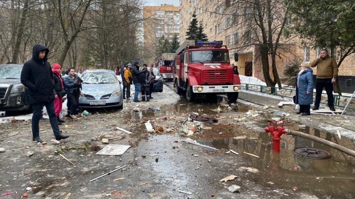 Число жертв взрыва в Химках увеличилось до трех