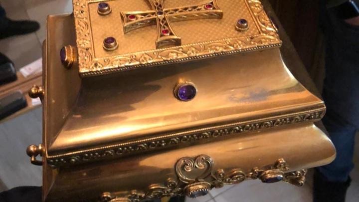 18-летнего ростовчанина подозревают в краже мощей святого Александра Свирского