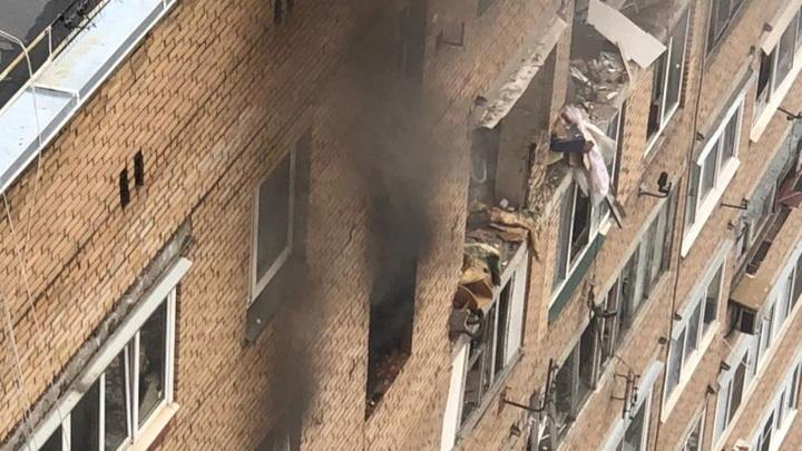 Взрыв в Химках: главу семьи и детей засыпало обломками во время завтрака