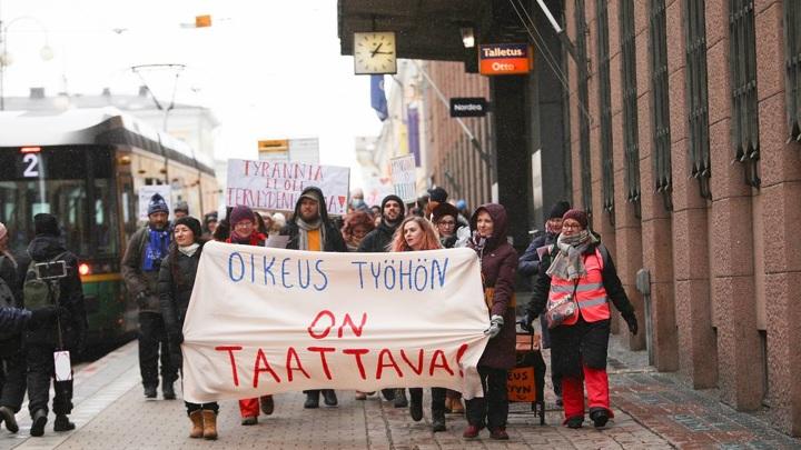 В Финляндии задержаны 10 человек на акции протеста
