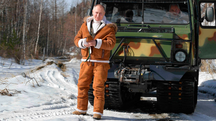 Костюм, в котором Путин отдыхал в тайге, обойдется в 150 тысяч рублей