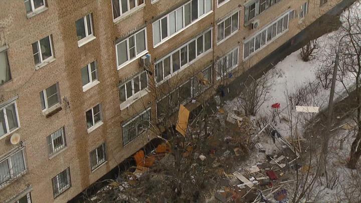Число жертв взрыва в доме в подмосковных Химках увеличилось до четырех