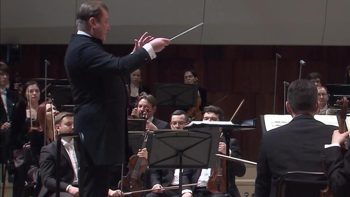 Симфонический оркестр республики Татарстан выступил в Москве