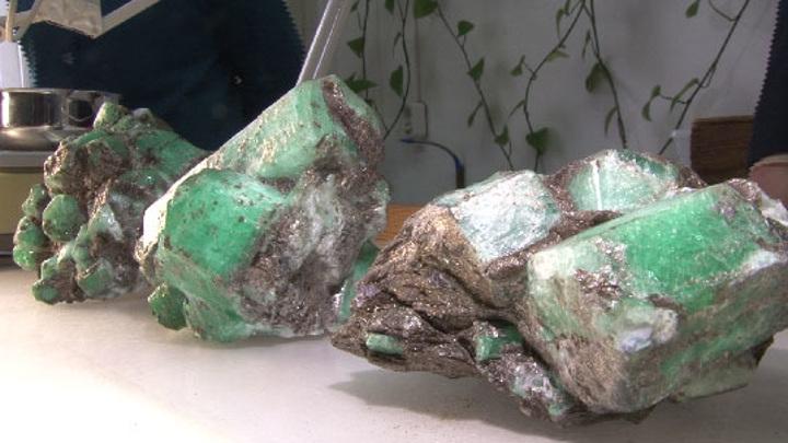 Уникальные изумруды найдены на Мариинском прииске