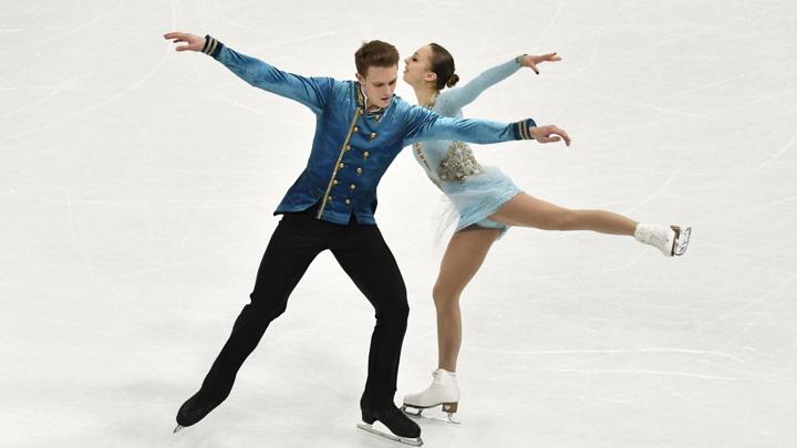 Фигуристы Бойкова и Козловский выиграли короткую программу чемпионата мира
